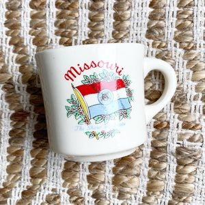 Vintage Missouri Ceramic Mug Coffee Cup USA
